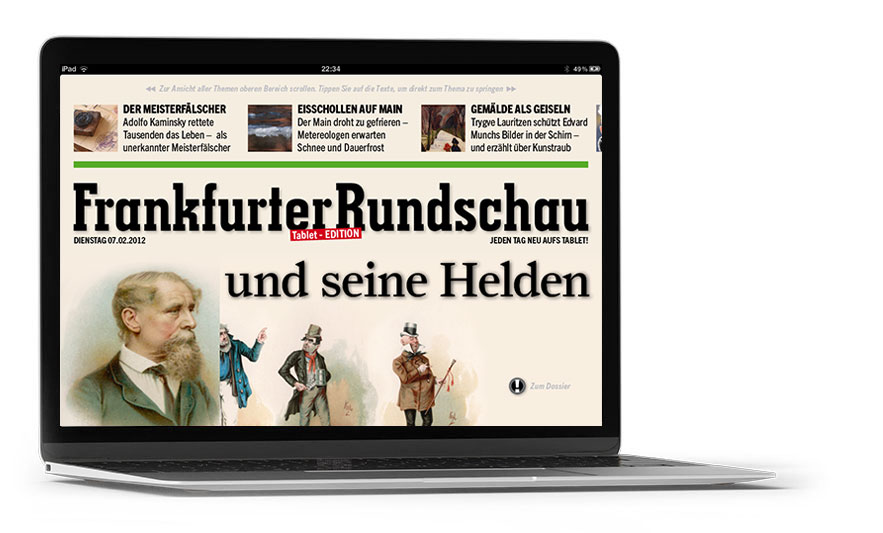 Portfolio Bild Frankfurter Rundschau