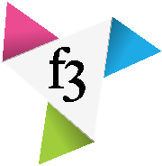 f3publishing GmbH Sticky Logo Retina